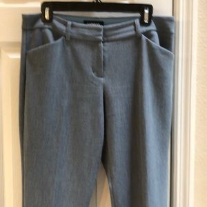 Express Sz 8R LT Blue Dress Pants